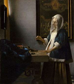 Johannes Vermeer (1663 – 64)  Woman with a Balance Washington D.C. National Gallery of Art, Widener Collection